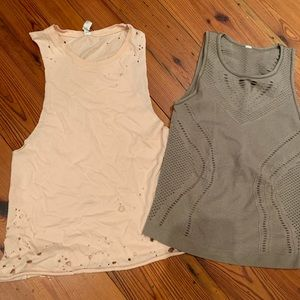 ALO Yoga tanks (lot of two)